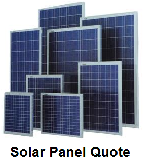 Solar Panel Quote